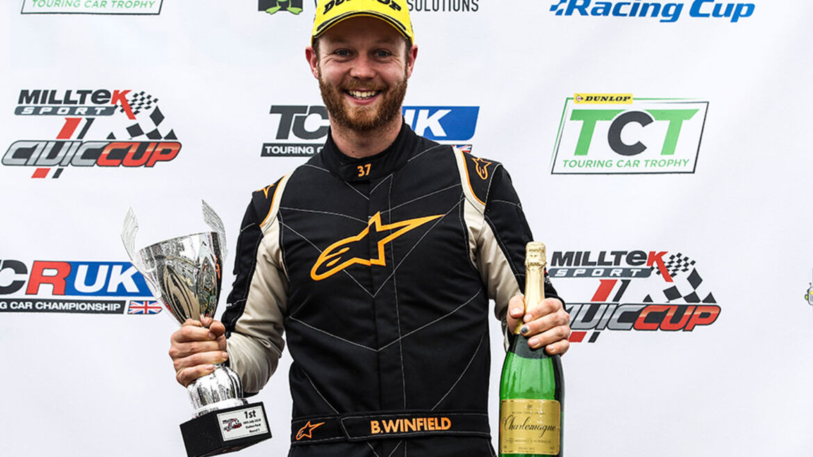 Double Champion chooses TCR campaign